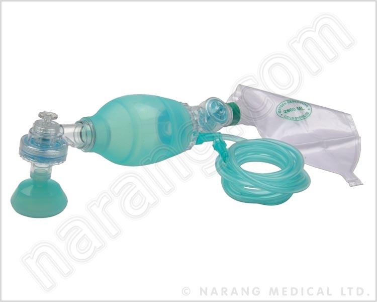 Artificial Resuscitator Ambu Type Bag Child